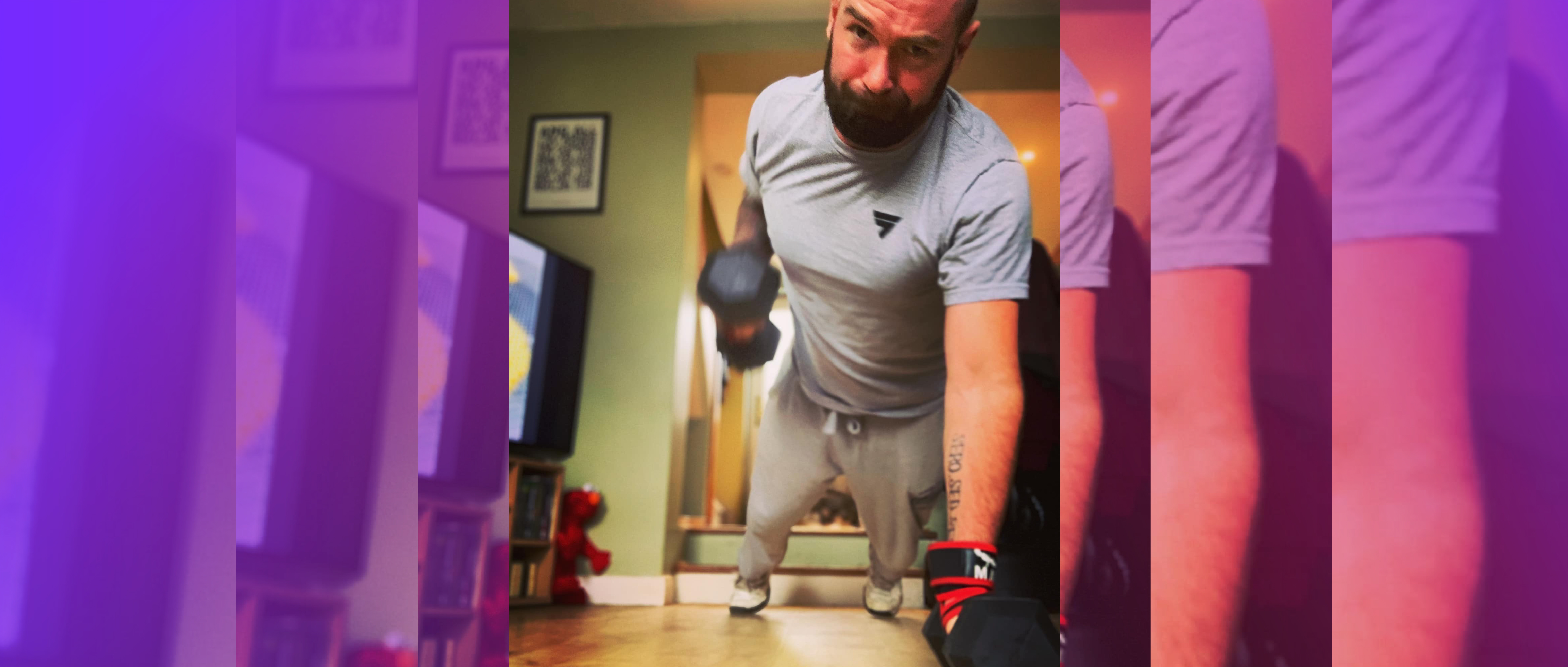 Intu Fitness coach Stewart
